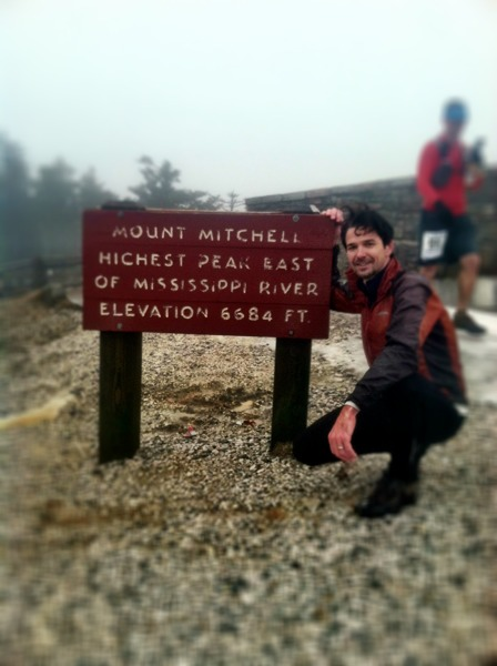 Top of Mount Mitchell