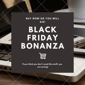 Mock Black Friday Sale Advertisement