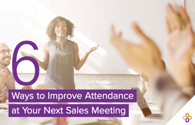6 tips to improve your next sales meeting graphic