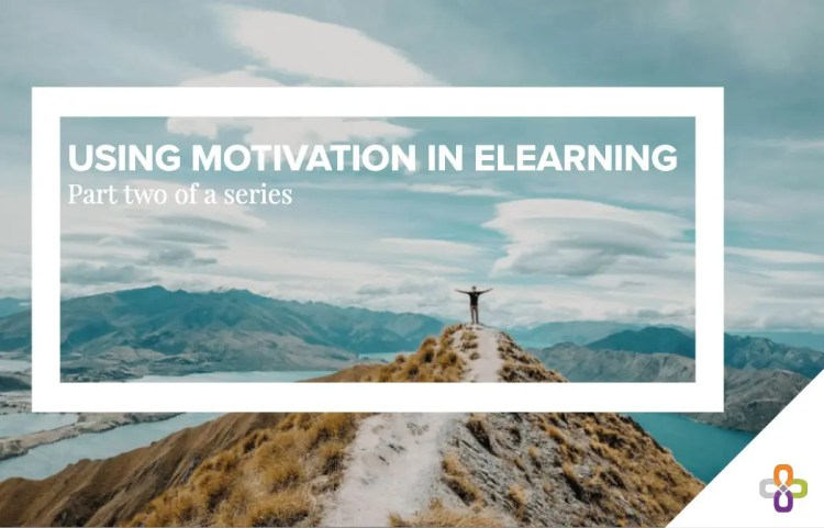 motivation in eLearning graphic