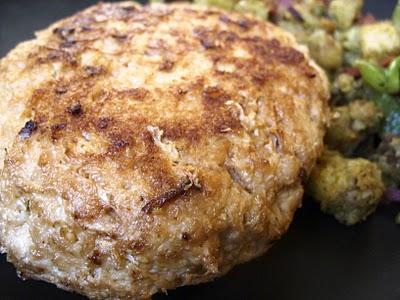 The Betty Crocker Project : Cornbread & Vegan Bacon-Stuffed Pork Chops