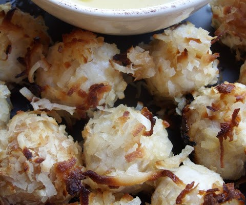 The Betty Crocker Project : Baked Coconut Shrimp