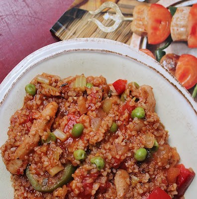Vegan Meyhane Pilavi (Turkish Bulgur Pilaf)