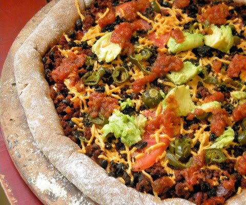 An Informal Letter to A Vegan Stuffed Crust Mexican Pizza (recipe included)