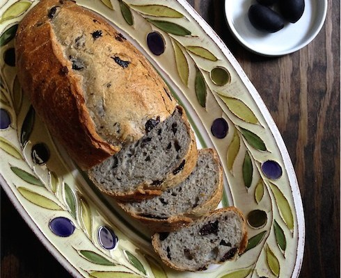 Black Olive & Rosemary Bread