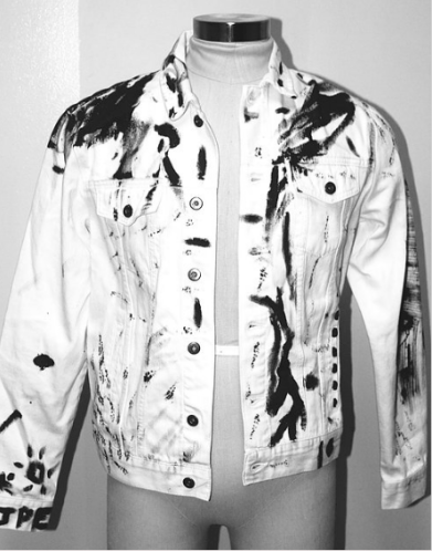'There's So Much Out There' Custom Denim Jacket One of One $129