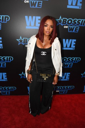 Rasheeda Frost at a Bossip launch party via Pinterest