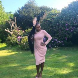 Serena Williams wearing Versace via Instagram @serenawilliams