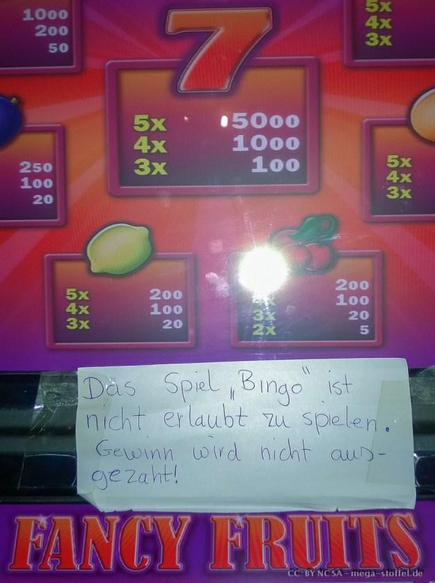 Feuerbach, Glücksspiel