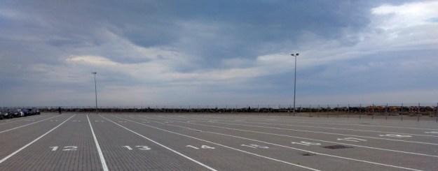 Fährenparkplatz