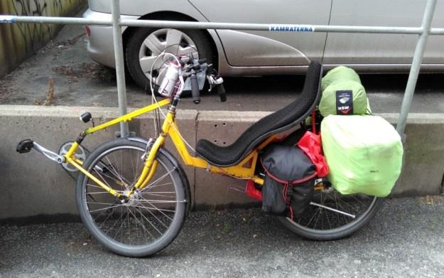 ein interessantes Fahrrad-Konzept