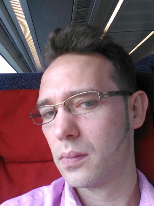 meine neue Tolle mit orientalischem Bart