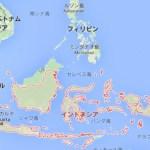 インドネシア地図