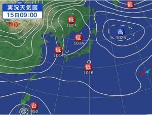 12月の台風