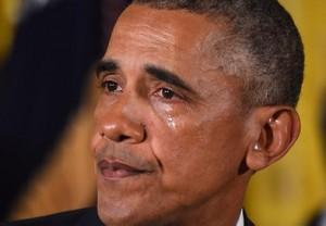 オバマの涙