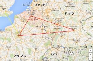 ベルギーを結ぶ