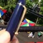 万年筆と消防車
