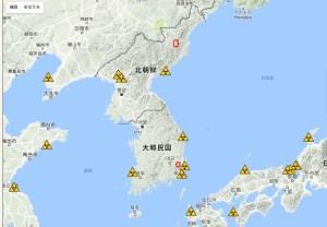 韓国の原発施設