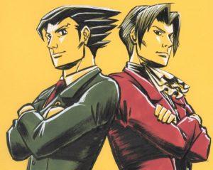 Ace Attorney - Rivalery   Suisei Killfaeh [pixiv] http://www.pixiv.net/member_illust.php?mode=medium&illust_id=59697295