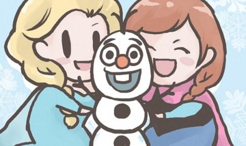 アナと雪の女王 | なちこ [pixiv] http://www.pixiv.net/member_illust.php?mode=medium&illust_id=61750369