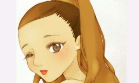 Ariana Grande   あみ [pixiv] https://www.pixiv.net/member_illust.php?mode=medium&illust_id=57809371