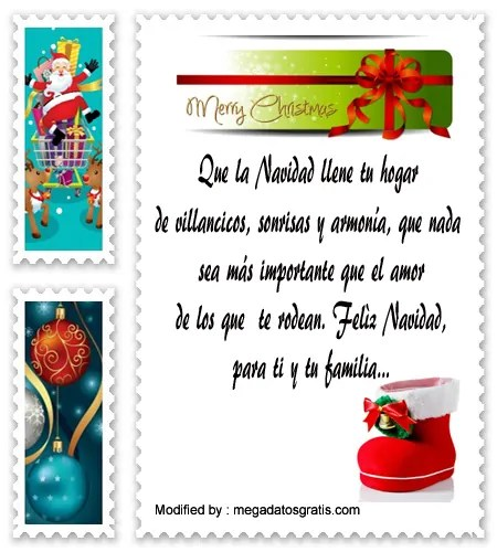 Postales Con Frases Y Mensajes De Navidad Hoy Frases Lo