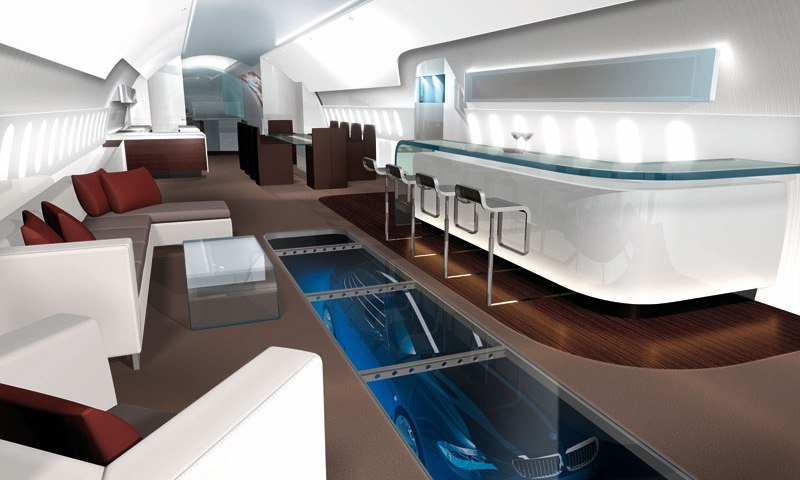 Airplane Interiors