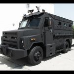 armored water cannon