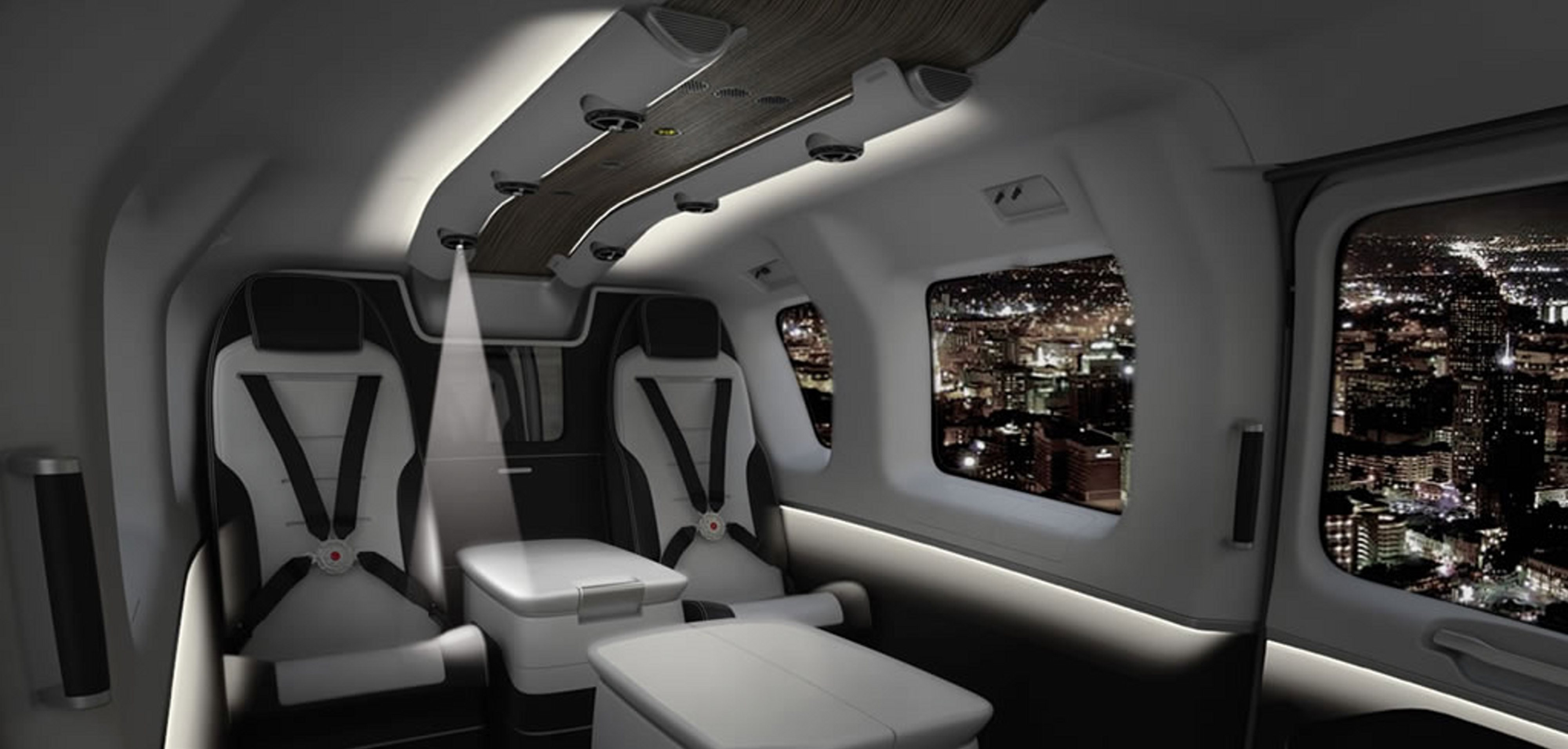 Helicopter interiors mega for Helicoptere interieur