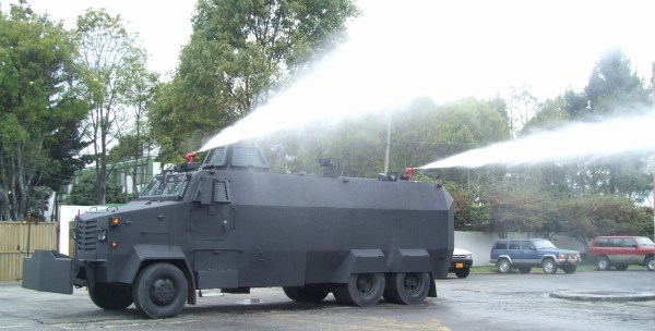 Water Cannon Vehicles
