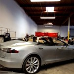 Tesla S in the process