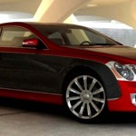 maybach coupe red 1