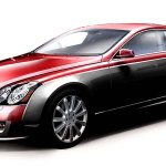 maybach coupe red 2
