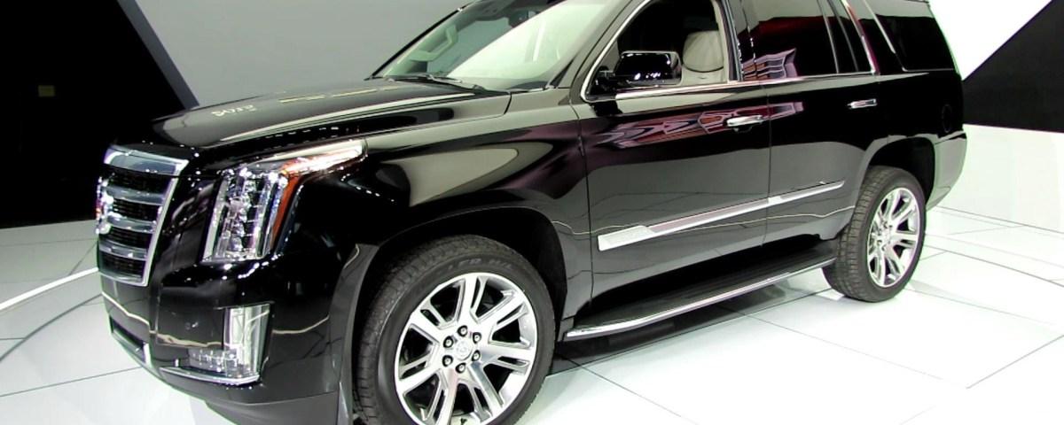 Armored Cadillac Escalade