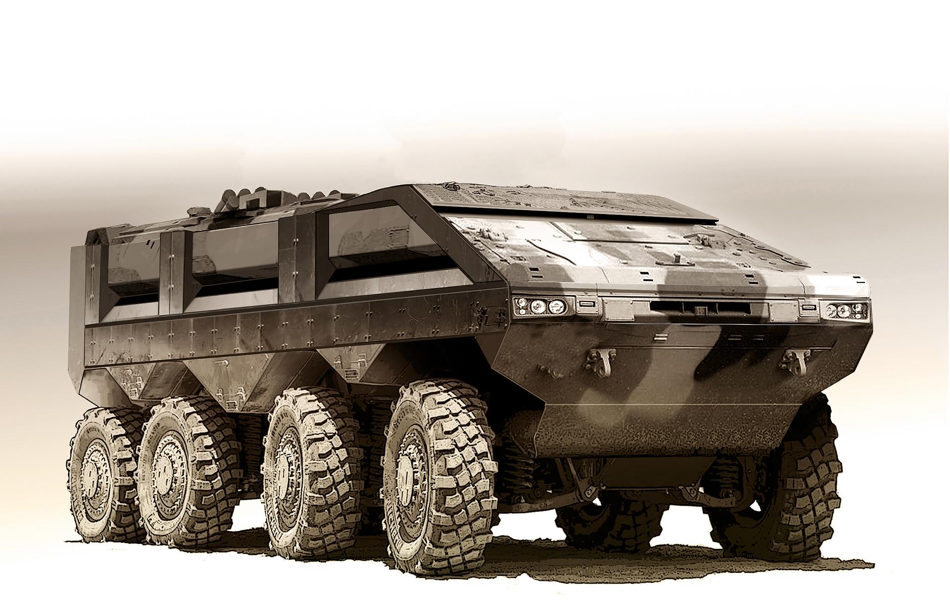 Modern Military Vehicles – MEGA