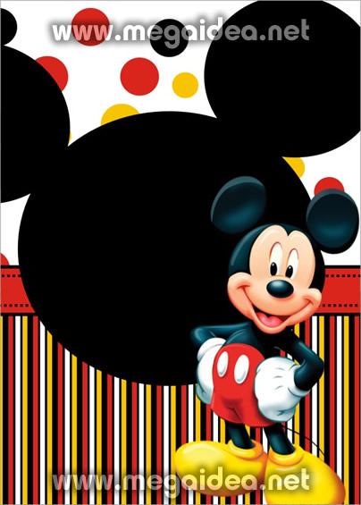 Extraordinario Invitaciones Gratis Para Imprimir De Mickey Mouse