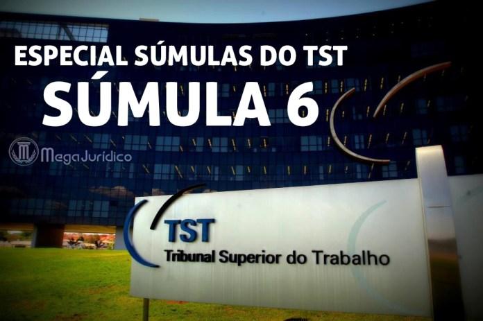 especial sumula 6 TST