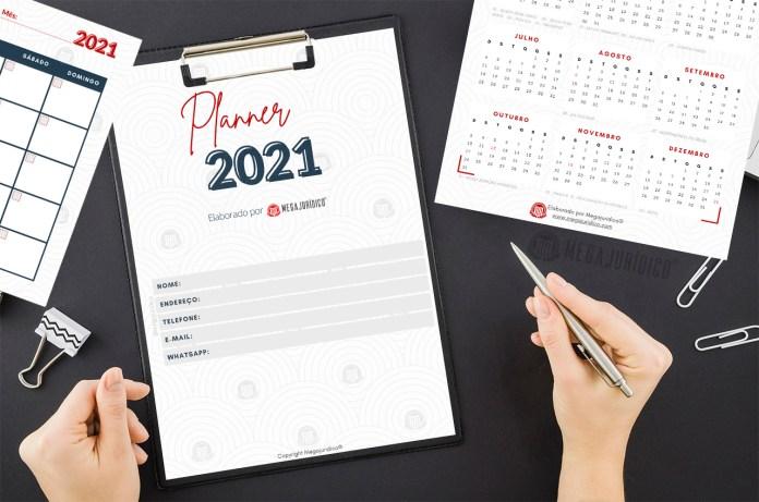 planner 2021 download grátis