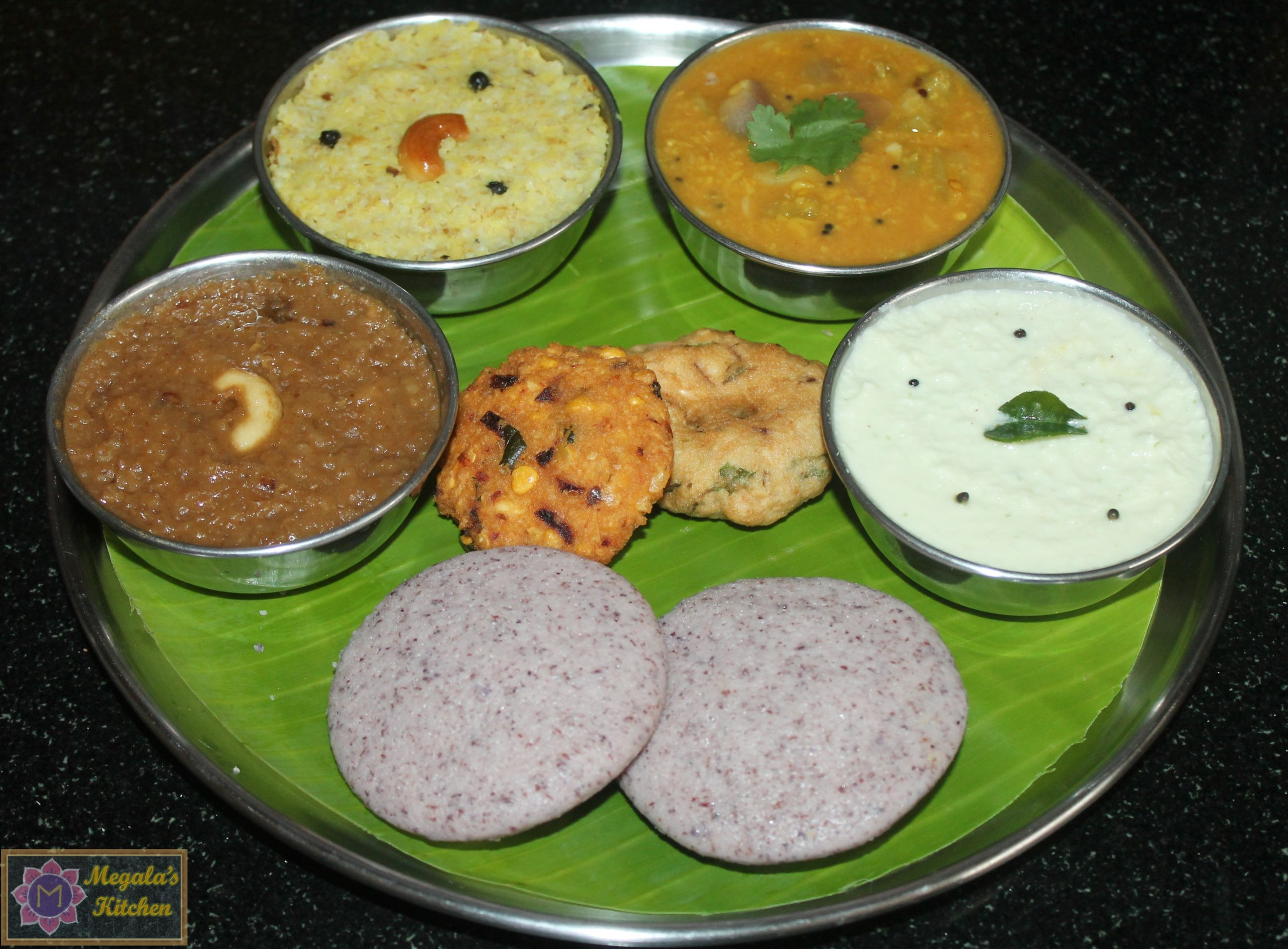 pongal-platter-scaled South Indian Breakfast