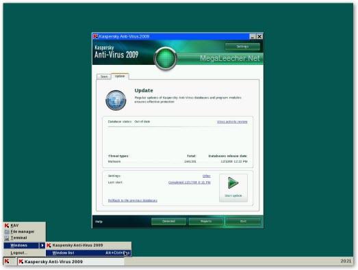 Kaspersky Recue Disk 2009