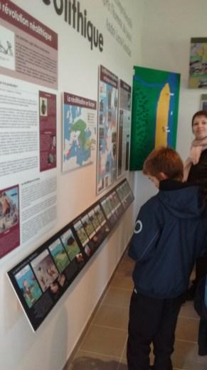Visite du musée lors de l'inauguration 1
