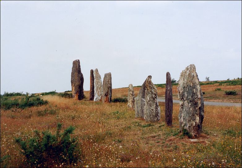 St Just menhirs, Brittany, France - at Megalithia.com