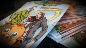 la copertina del fumetto - II edizione