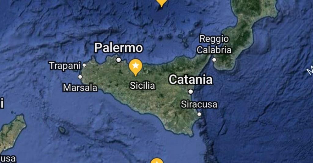 Mappa Megaliti Sicilia Italia