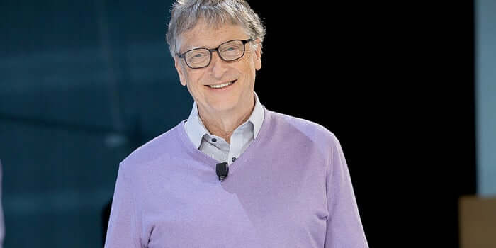 Bill Gates became a self-made billionaire in 1987, when he was 31 years old -Megalopreneur