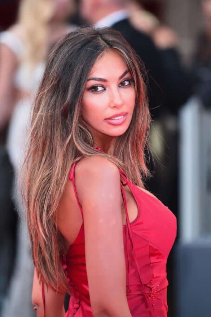 The Romanian enchanted everyone with her beauty at the festival in Venice
