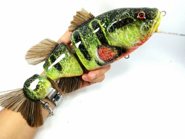 megalures-Fatboy Peacock Bass Musky Lures