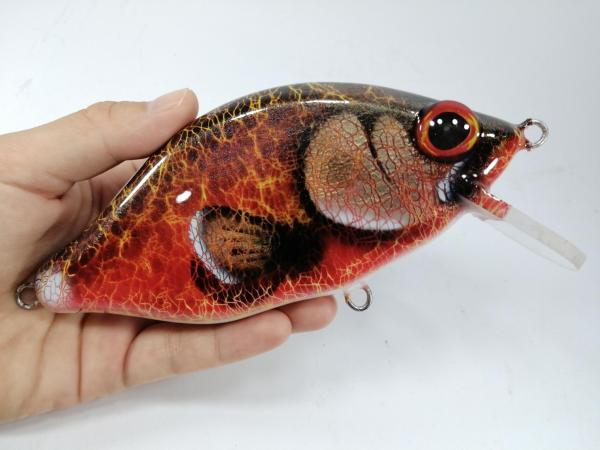 MiniCrank Salmon Musky Lures