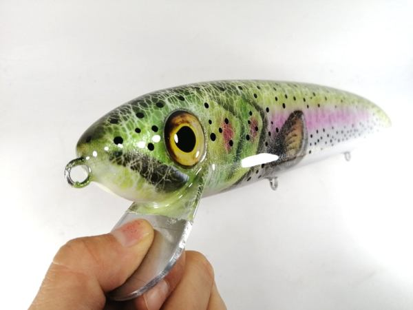 megalures-Giant Stalker 14in Trolling Lures Rainbow Trout