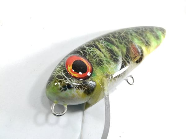 megalures-Giant Stalker 6in Fishing Lures Perch